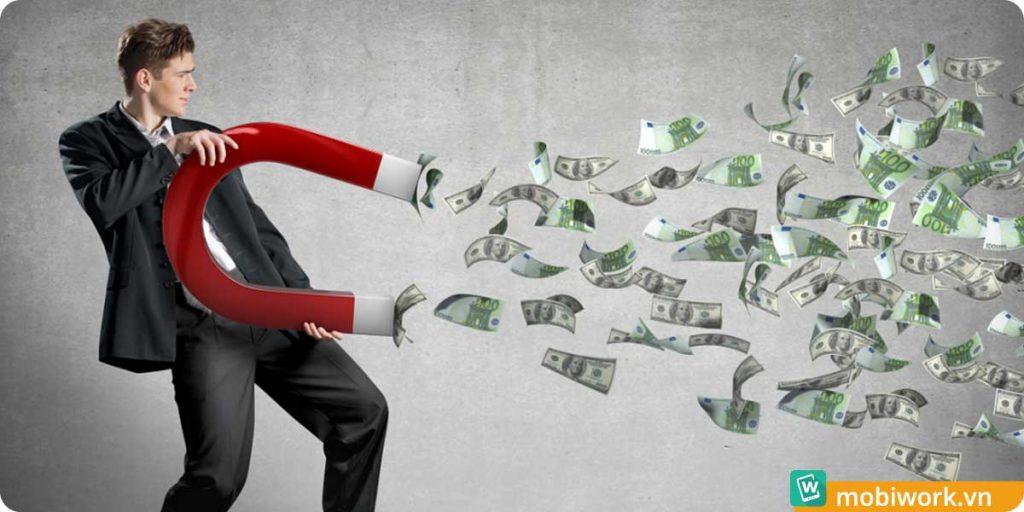 Đừng để tiền rơi !!!