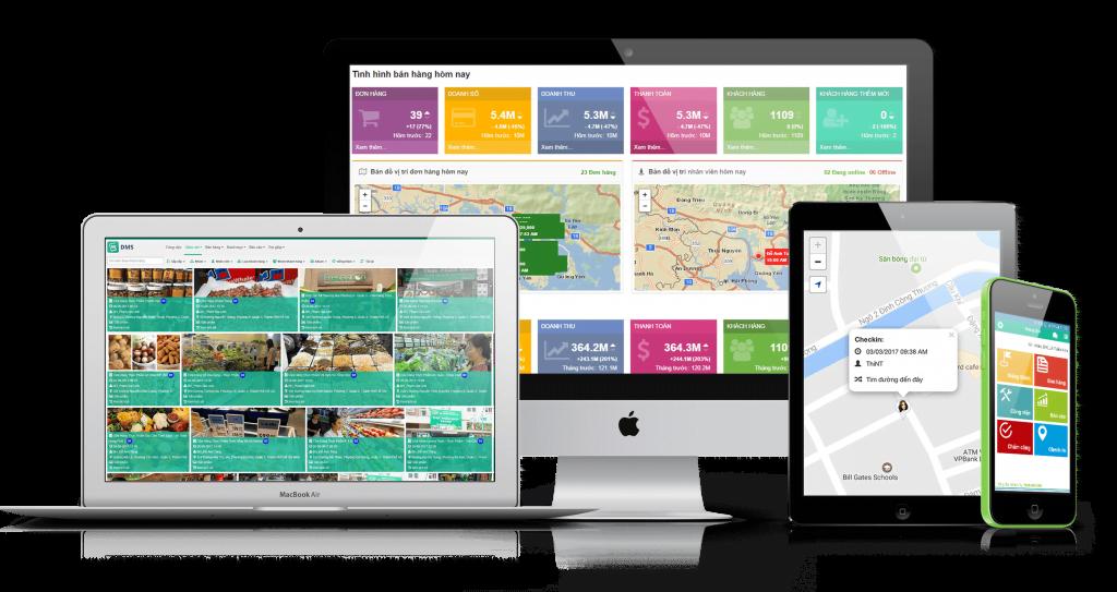 phần mềm dms - giải pháp quản lý hệ thống phân phối