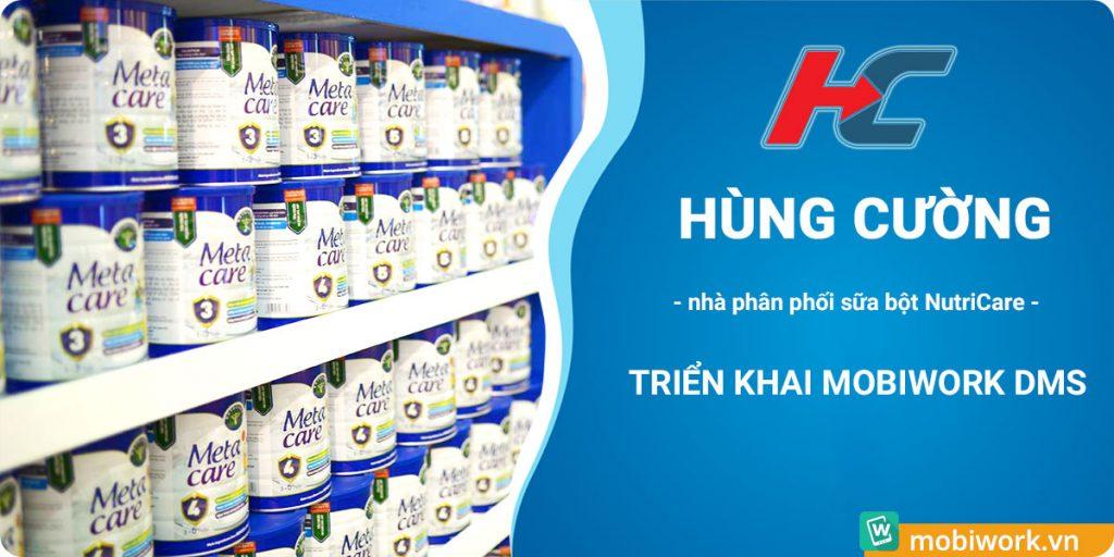 Hùng Cường - nhà phân phối sữa bột Nutricare khởi động dự án phần mềm DMS